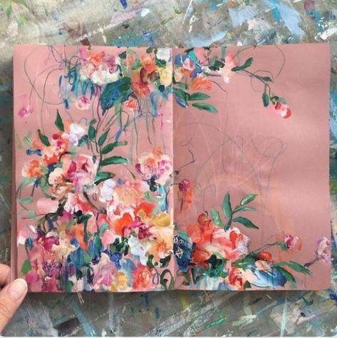 Lovely flowers.  journal