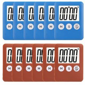 12 X Mini Digital Timers 9 99 83 Cents Each Free Shipping