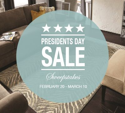 I just entered the @Karastan Presidents Day Sale #Sweepstakes! #livebeautifully
