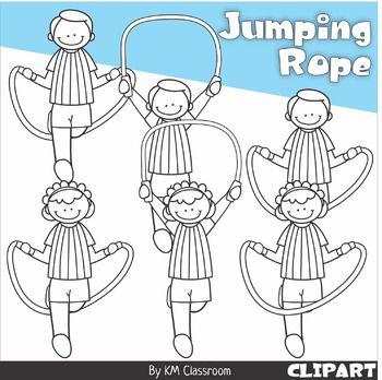 Jumping Rope Clip Art Clip Art Jump Rope Rope Drawing