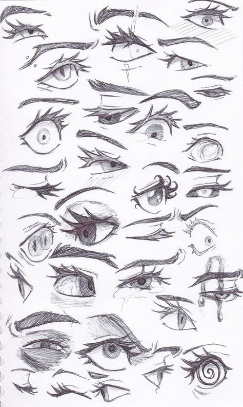 Eye sketches by TrueLoveStoryMB on DeviantArt Art Drawings Sketches Simple, Pencil Art Drawings, Fantasy Drawings, Drawing Face Expressions, Eye Sketch, Cartoon Art Styles, Drawing Reference Poses, Art Poses, Anime Eyes
