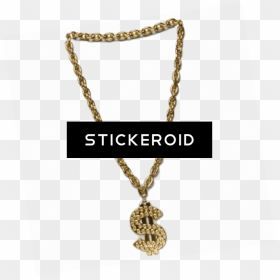 Thug Life Gold Chain Dollar Gangster Golden Chain Png Transparent Png Gold Chain Dollar Sign Png Gold Transparent Pure Products