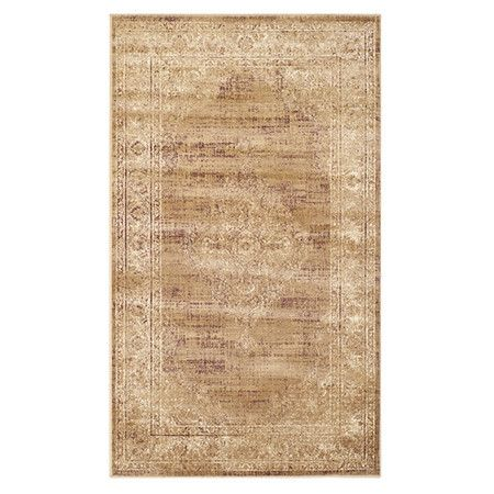 414 95 For 8x11 Anchor Your Dining Set Or Living Room Seating Group In Chic Style With This Art Silk Rug Vintage Inspired Rugs Vintage Rugs Vintage Area Rugs