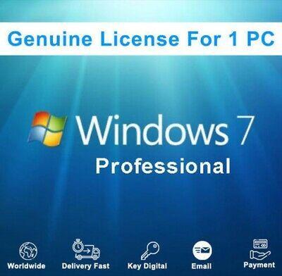 Ad Windows 7 Professional Win 7 Pro Genuine Online Activation Key Download Link In 2020 7 Pro Dvr Cctv Windows Server