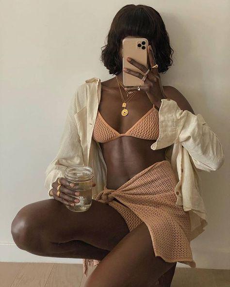 Black Girl Fashion, Look Fashion, Fashion Outfits, Fashion Trends, Black Girl Style, Queer Fashion, Child Fashion, Brown Fashion, French Fashion