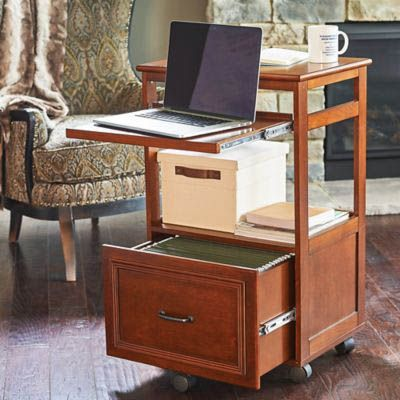 Do It Yourself Desks That Really Work For Your Home Office With Images Desk Mobile Desk Portable Desk