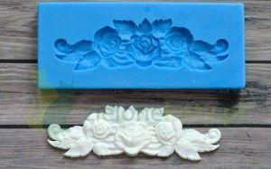 Forma Foremka Silikonowa Kwiaty Ornament Novelty Silicone Molds Ice Tray
