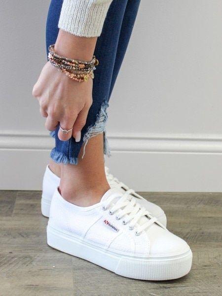 Superga Platform Sneaker in 2020