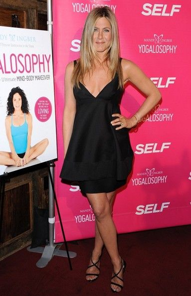 Wearing Stella McCartney At An Event In NYC - Jennifer Aniston's Most Daring Red Carpet Moments - Photos