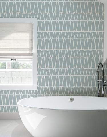 Alps Pattern Wall Tiles Self Adhesive Eco Friendly Removable Fabric Wallpaper Alternative From Blik Wall Patterns Patterned Wall Tiles Wall Tiles