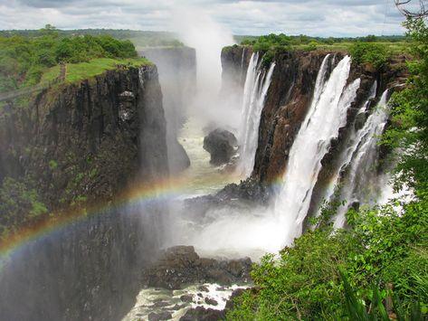 Explore the world's most beautiful waterfalls
