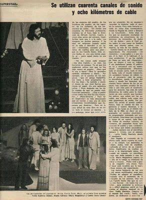 Imagenes Y Videos De Camilo Sesto Detalle De Revista Sobre La Obra Jesucristo Supers Camilo Sesto Camilo Camilo Blanes