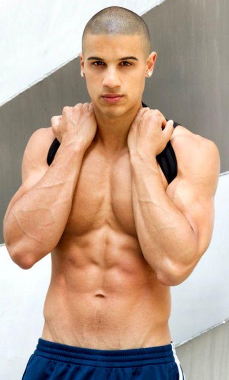Hot gay hispanic men