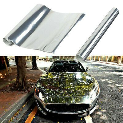 Details About 1x Chrome Mirror Wrap Film Anti Uv Car Body Sticker Vinyl Sheet Bubble Decal In 2020 Mirror Vinyl Vinyl Wrap Car Chrome Mirror