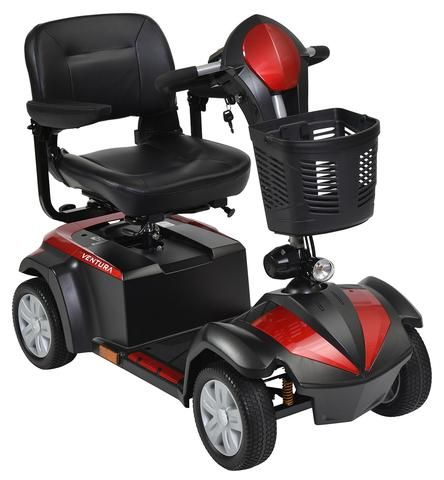 Drive Medical Ventura 4-Wheel Compact Mobility Scooter | 4 Wheel