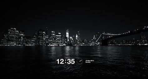 Quoteko Com Screen Savers Apple Watch Faces Manhattan Night