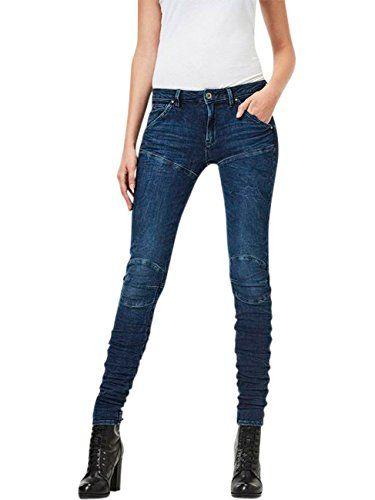 free shipping a9538 df719 G-Star Damen Jeans 5620 G-Star Elwood STAQ 3D Mid Waist ...