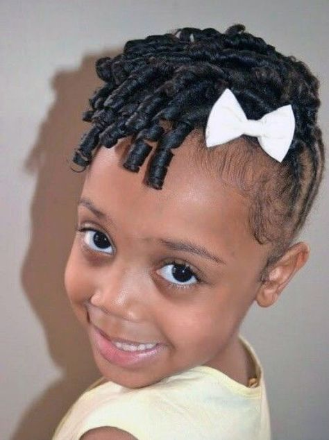 Black Kids Hairstyles with Braids, Beads and Accessories