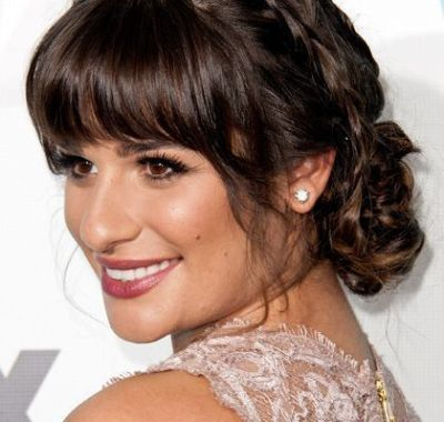 Prom Hairstyles With Bangs Poni