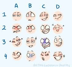 Extreme Face Expression Reference Google Search Expression Sheet Drawing Expressions Drawing Face Expressions