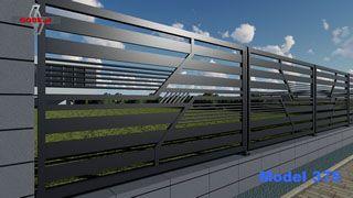 Szeregowe Ogrodzenie Na Murku Z Bloczkow Panel Model 375 Haus Ideen Haus Ideen