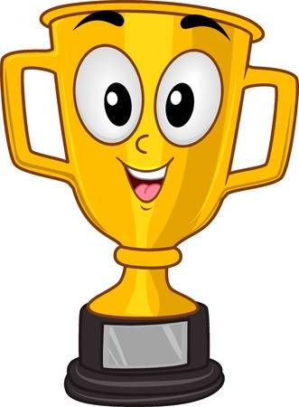 La Mascota Ilustracion De Un Trofeo De Oro Sonriente Por Un Campeonato Copa Sport Trofeo Dibujo Dibujos De Colores Medallas Para Ninos