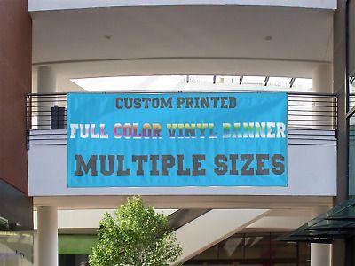 Ad Ebay Url 3 Wide X 10 Long Custom Vinyl Banner 13oz Full Banner Custom Banners Custom Vinyl Banners Vinyl Banners