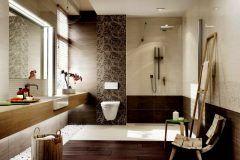 Badezimmer Fliesen Braun Beige - Hause Deko Ideen ...