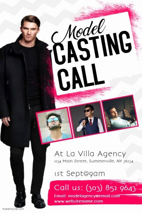 Casting Call Flyer Template Lovely Model Casting Call Flyer Template Casting Call Flyer Flyer Template