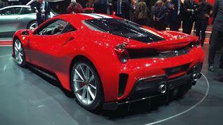 Italian Giant Ferrari Will Show The New Model Ferrari 488 Pista