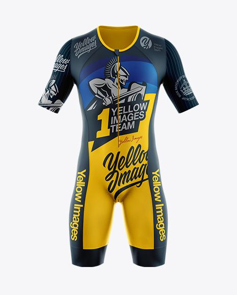 Download Men S Cycling Speedsuit Mockup Front View In Apparel Mockups On Yellow Images Object Mockups Design Mockup Free Mockup Free Mockup