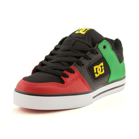 0bedf82fe43 Shop for Mens DC Pure Rasta Skate Shoe in Black at Journeys Shoes. Shop  today for the hottest brands in mens shoes and womens shoes at Journeys.com.