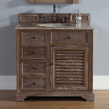 James Martin Furniture 238 104 5511 2dsc Savannah Vanity 36 Inch Bathroom Vanity Distressed Bathroom Vanity Bathroom Vanity