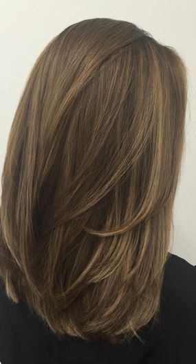Kurze Lange Gerade Frisuren Gerade Mittellange Frisuren Gerade Schulterfrisuren F In 2020 Medium Length Hair Styles Haircuts For Medium Hair Haircut For Thick Hair