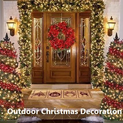 19 Brilliant Ideas For Outdoor Christmas Decorations 1 Giant Christmas Lollipops Outdoor Christmas Decorations Christmas Decorations Diy Outdoor Front Door Christmas Decorations