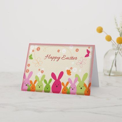 Happy Easter Greeting Card Zazzle Com In 2021 Happy Easter Greetings Happy Easter Card Easter Greeting Cards