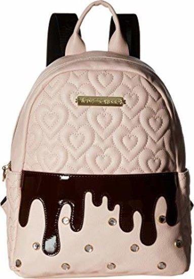 Betsey Johnson Backpack Blush Shoulder Bag