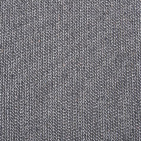 Grey color Solid and Woven pattern Wool type Upholstery Fabric called Grey Wool by KOVI Fabrics