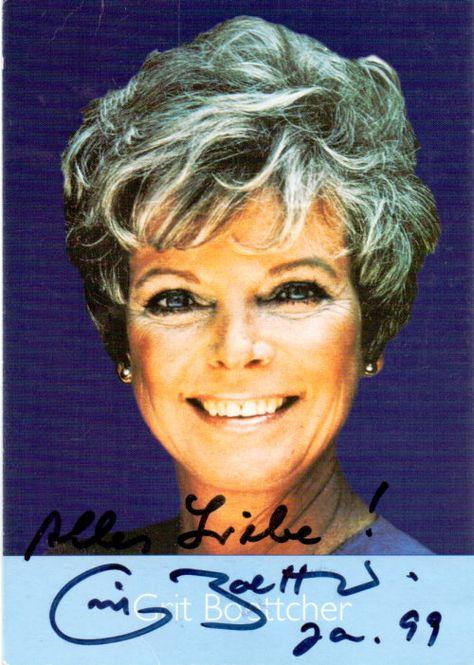 Grit Bottcher Original Signierte Autogrammkarte Der Beliebten Deutschen Schauspielerin Www Starcollector De Deutsche Schauspieler Schauspieler Und Jungs