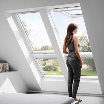Dachfenster mit Austritt von Velux: eine Übersicht | Wand & Beet ...
