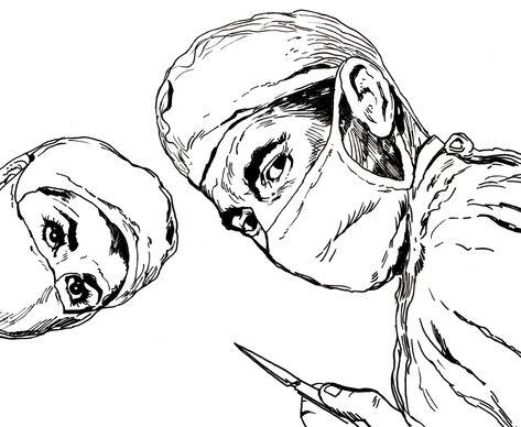 Resultado de imagen de cirujanooperando años 70
