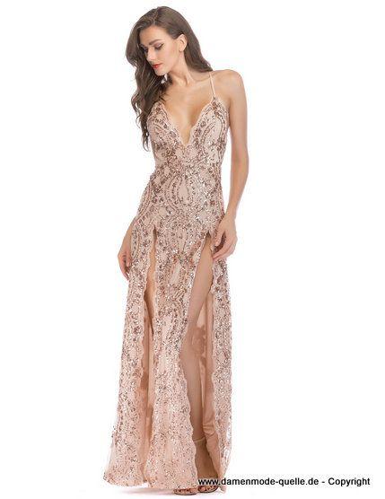 Frauen rückenfrei elegante Abend Party Prom Rüschen Brautjungfer Maxi-Kleid Mode