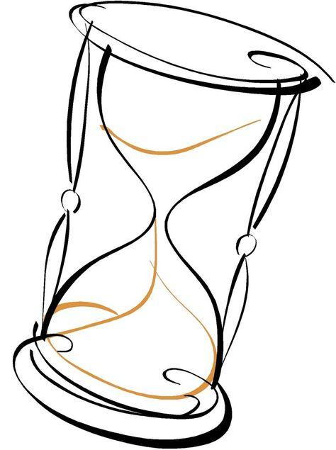 Открытки про, песочные часы картинки рисунки