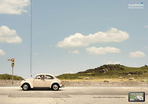 Garmin GPS Navigation: Speech | Ads of the World: Creative Advertising Archive & Community