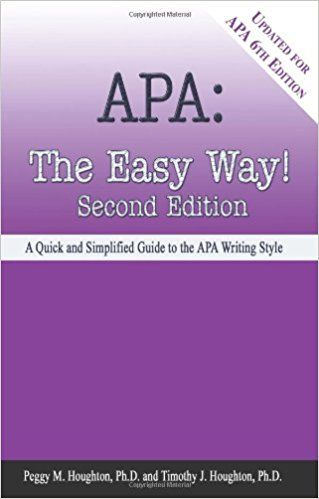 Apa The Easy Way Updated For Apa 6th Edition Subscribe Here And Now Http Online Pediabooks Top Id Book 092356896 Apa 6th Edition Writing Styles Apa
