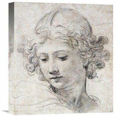 Global Gallery 'The Head of an Angel' by Pietro Berrettini Graphic Art on Wrapped Canvas