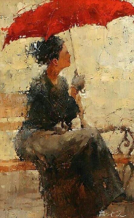 Andre Kohn Art Pluie Art De Parapluie Et Comment Peindre