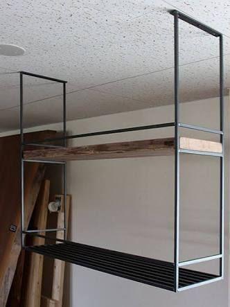 キッチン 水切り棚 アイアン の画像検索結果 棚 吊り棚 キッチン