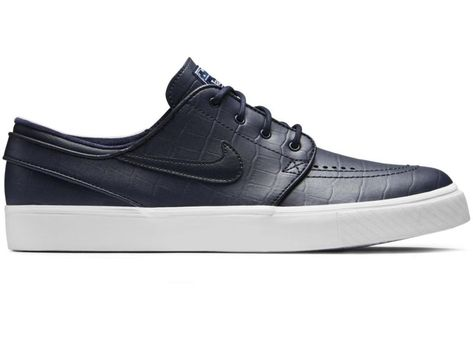 100% authentic 6beb7 487d3 Check out the Nike SB Stefan Janoski Zoom Blue Croc available on StockX