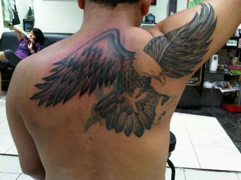 Pin The Small Eagle Tattoo Designs And Meaning For Men On Sleeve